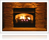 Gas log conversion by Wright Lighting and Fireside