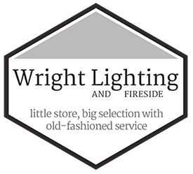 Wright Lighting and Fireside Logo